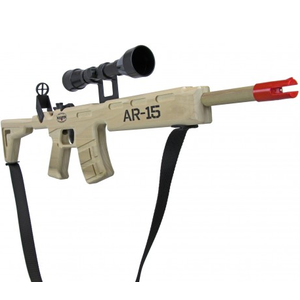 Magnum Enterprises . MGE AR-15 Rifle with Scope and Sling