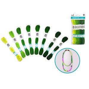MultiCraft . MCI Cotton Floss 8M Go green