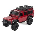 Traxxas Corp . TRA TRX4 Land Rover Defender 1/10 Crawler Red