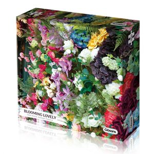 Gibsons Puzzles . GIB Blooming Lovely 100pc Puzzle