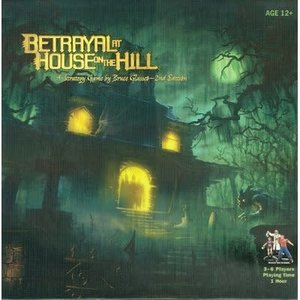 Avalon Hill . AVH Betrayal At House On The Hill