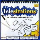 USAopoly . USO Telestrations® 8 Player - The Original