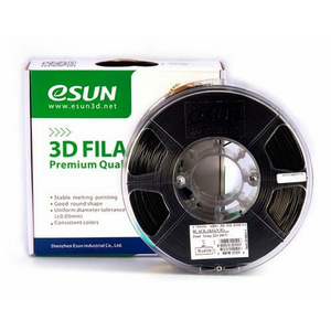 Esun Filament. ESU ABS+Filament 1.75mm Black 1 kg roll