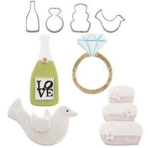 CK Products . CKP Cutie Cupcake - Wedding Set (4)