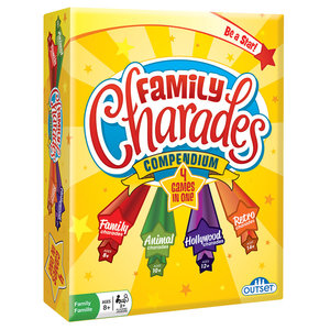 Outset Media . OUT Family Charades Compendium 4-in-1