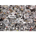 Cobble Hill . CBH Black & White: Animals 1000PC PUZZLE