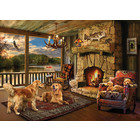 Cobble Hill . CBH Lakeside Cabin 1000pc Puzzle
