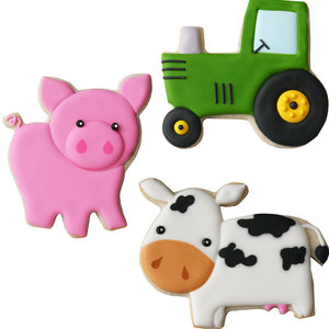 CK Products . CKP Farm Cookie Cutter Set