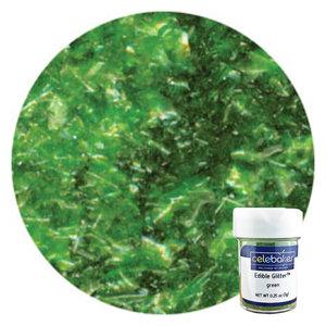 CK Products . CKP CB Green Edible Glitter Flakes 1/4 oz