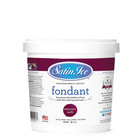 Satin Fine Foods . SFF Satin Ice Burgundy Fondant, 2 lb
