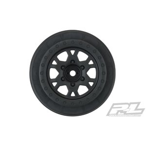 Pro Line Racing . PRO Impulse Black Front Wheels for Slash 2wd