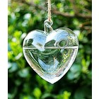 Midwest Design . MWD (DISC) - Hanging Glass Heart
