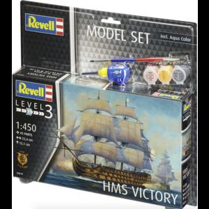 Revell of Germany . RVL 1:450 HMS Victory Set