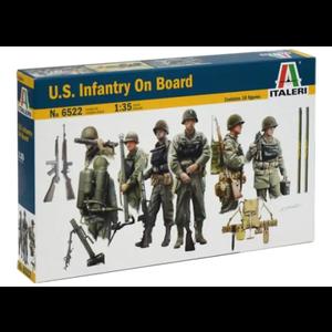 Italeri . ITA US Infantry on Board