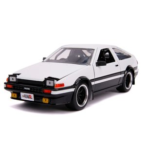 "Jada Toys . JAD Jada 1/24 ""JDM Tuners"" 1986 Toyota Trueno AE86 - Glossy White"