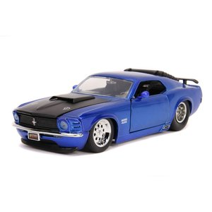 "Jada Toys . JAD Jada 1/24 ""BIGTIME Muscle"" 1970 Ford Mustang Boss 429 - Candy Blue"