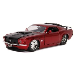 "Jada Toys . JAD Jada 1/24 ""BIGTIME Muscle"" 1970 Ford Mustang Boss 429 - Candy Red"