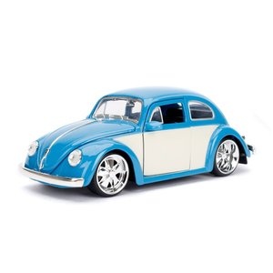 "Jada Toys . JAD Jada 1/24 ""BIGTIME Kustoms"" 1/24 1959 VW Beetle - Blue"