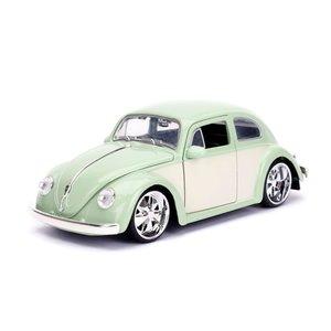 """Jada Toys . JAD Jada 1/24 """"BIGTIME Kustoms"""" 1/24 1959 VW Beetle - Green"""