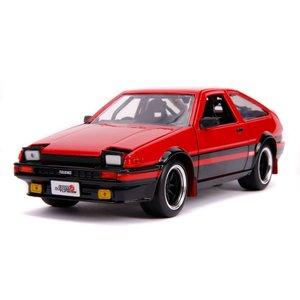 "Jada Toys . JAD Jada 1/24 ""JDM Tuners"" 1986 Toyota Trueno AE86 - Glossy Red"