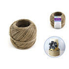 MultiCraft . MCI Natural Hemp Cord: 20Lb (1mm) 50G Bulk Ball (200Ft)