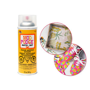 Plaid (crafts) . PLD Mod Podge: 12oz Acrylic Spray Sealer CA1469/1470 1469 Matte