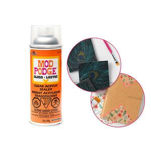 Plaid (crafts) . PLD Mod Podge: 12oz Acrylic Spray Sealer CA1469/1470 1470 Gloss