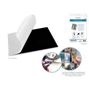 "MultiCraft . MCI Magnetic Sheet: 6""x9"" Self-Adhesive Photo Magnet Sheet"