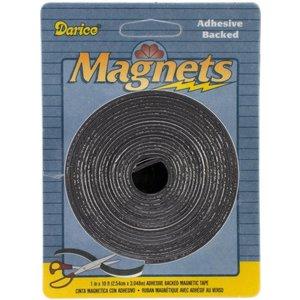 """Darice . DAR Adhesive Magnetic Tape 1""""X120"""""""