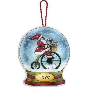 Dimensions . DMS Love Snow Globe Cross Stitch Kit