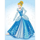 "Diamond Dot . DDT Diamond Embroidery Facet Art Kit 21""X28"" Cinderella"