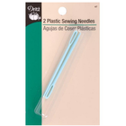 Dritz . DRZ Plastic Sewing Needles 2/Pkg