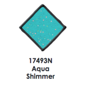 Plaid (crafts) . PLD Aqua Shimmer - Gallery Glass Window Color 2oz