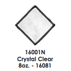 Plaid (crafts) . PLD Gallery Glass Window Color 2oz Crystal Clear (No Tint)