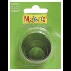 Makins . MAK Makin's Clay Cutters 3/Pkg Round