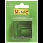 Makins . MAK Makin's Clay Cutters 3/Pkg Square