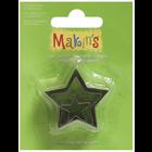 Makins . MAK Makin's Clay Cutters 3/Pkg Star