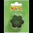 Makins . MAK Makin's Clay Cutters 3/Pkg Flower