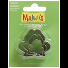 Makins . MAK Makin's Clay Cutters 3/Pkg Frog