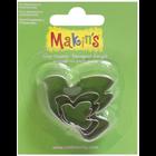 Makins . MAK Makin's Clay Cutters 3/Pkg Dove