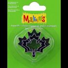 Makins . MAK Makin's Clay Cutters 3/Pkg Maple Leaf