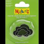 Makins . MAK Makin's Clay Cutters 3/Pkg Cloud