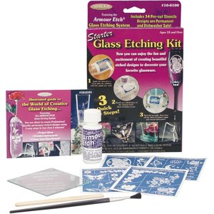 Armour Products (etch) . API Glass Etching Starter Kit