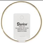 "Darice . DAR Gold Metal Macrame Ring 14"""