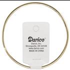 "Darice . DAR Gold Metal Macrame Ring 18"""