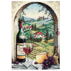 "Dimensions . DMS Gold Petite Counted Cross Stitch Kit 5""X7"" Dreaming Of Tuscany (18 Count)"
