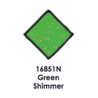 Plaid (crafts) . PLD Green Shimmer -  Glass Window Color 2oz