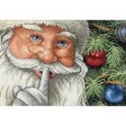 Dimensions . DMS Santa's Secret Cross Stitch Kit