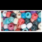 Beadery . BDR Pony Beads 6mmX9mm 900/Pkg Southwest Multicolor