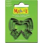 Makins . MAK Makin's Clay Cutters 3/Pkg Ribbon
